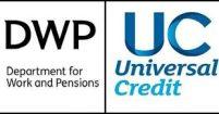 DWP and UC logos